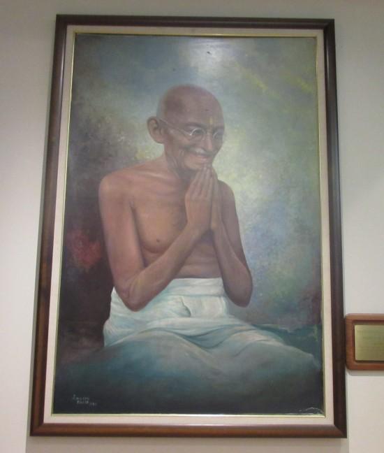 Gandhi painting!