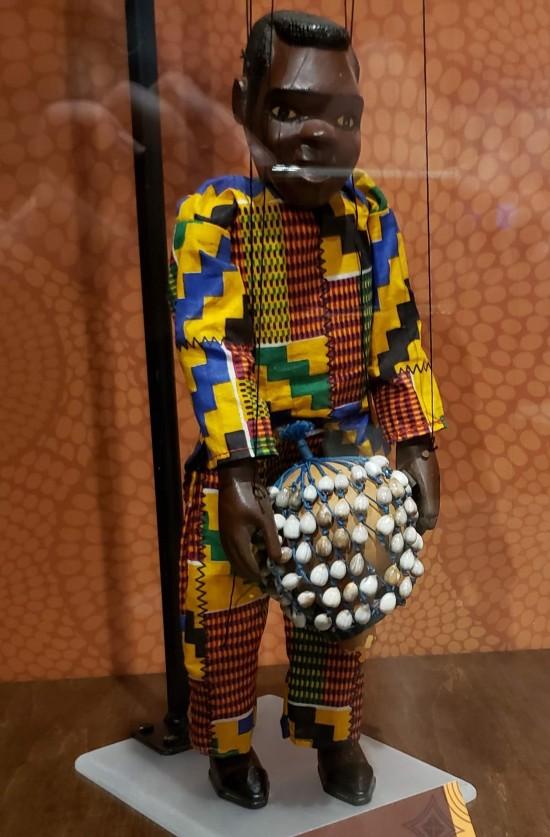 Ghana puppet!