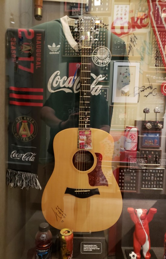 Jewel's guitar!