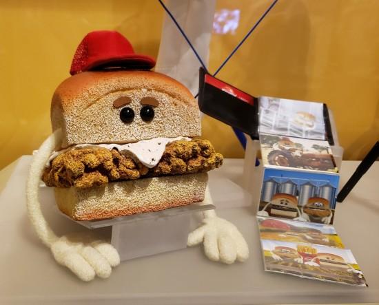 Krystals sandwich!