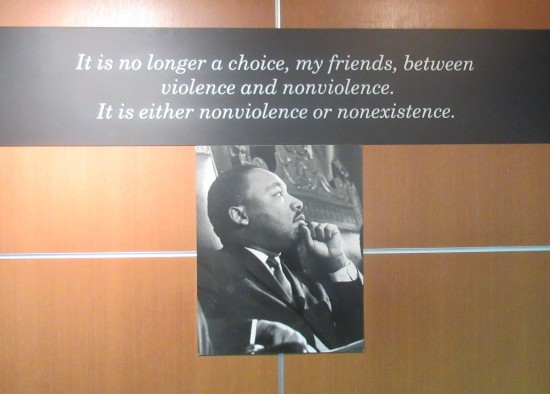 nonviolence and nonexistence!