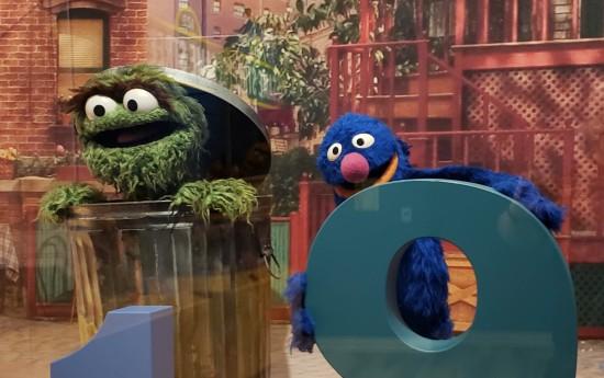 Oscar and Grover!
