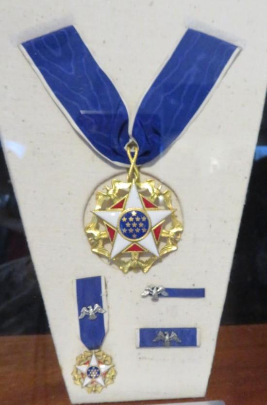 Presidential Medal of Freedom.