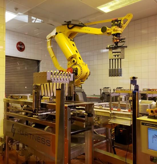 robot bottler!