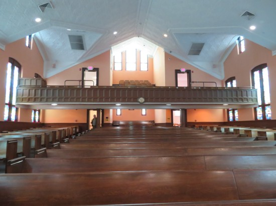 Ebenezer Baptist Church!