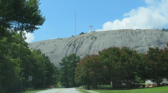 Stone Mountain afar...