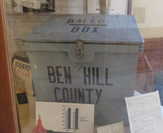 ballot box!
