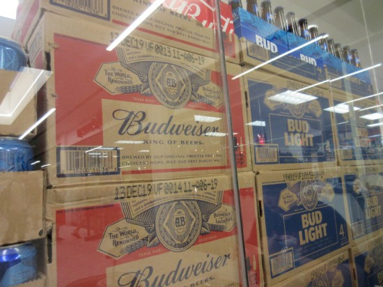 beer boxes!