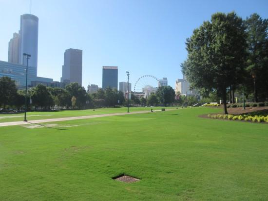 Centennial Olympic Park!