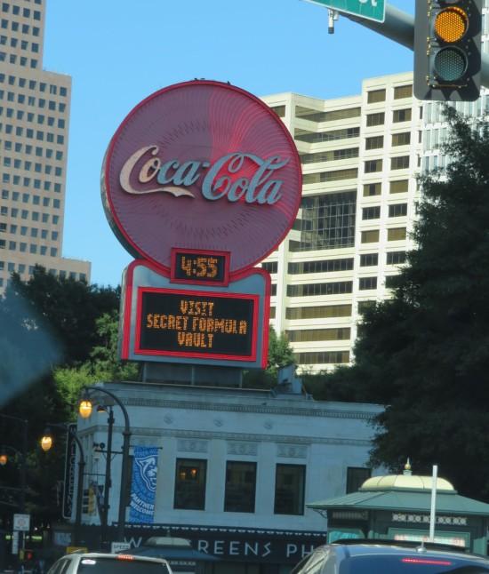 Coca-Cola sign!
