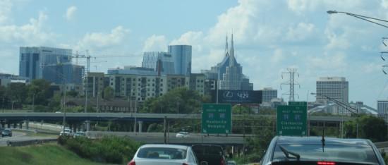 downtown Nashville!