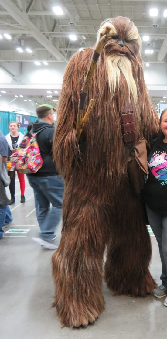 giant Wookiee!