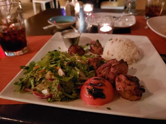 Lamb shish kebab!