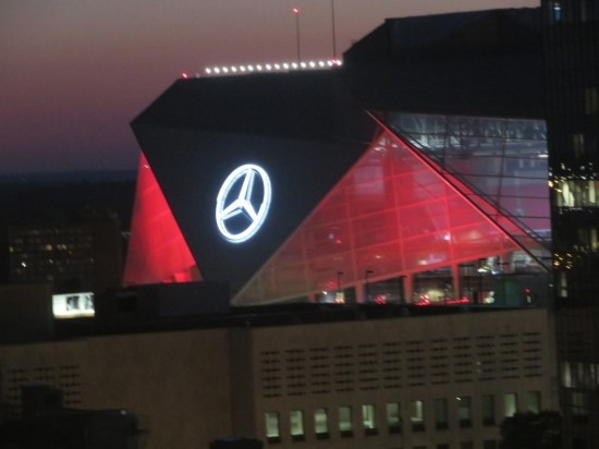 Mercedes Benz Stadium!