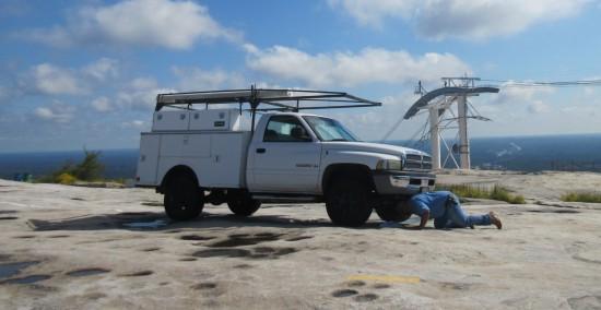mountain truck!