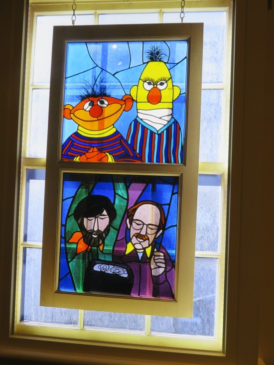 Muppet stained glass!