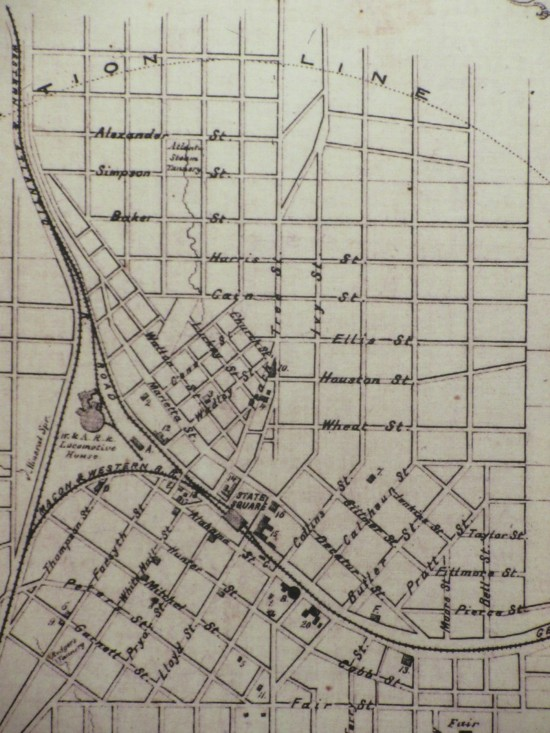old Atlanta map!