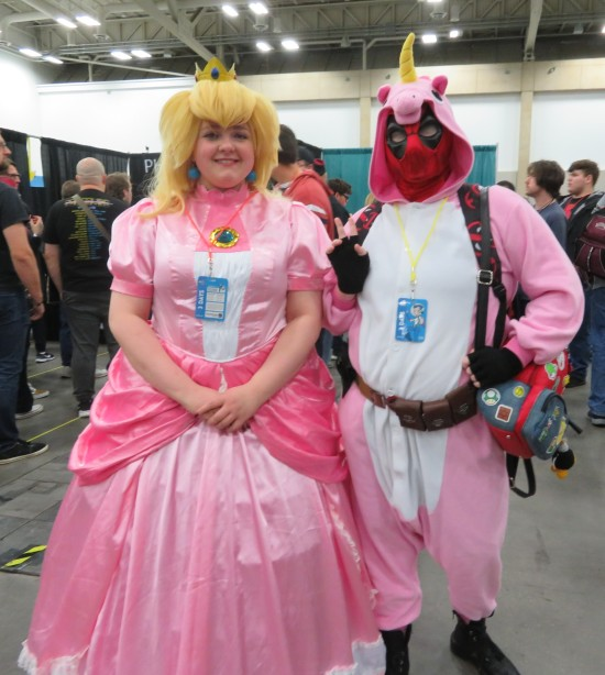 Princess Peach and Unipool!