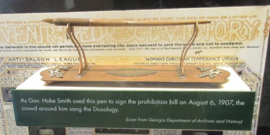 Prohibition pen!