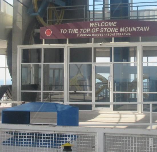 Stone Mountain Top!