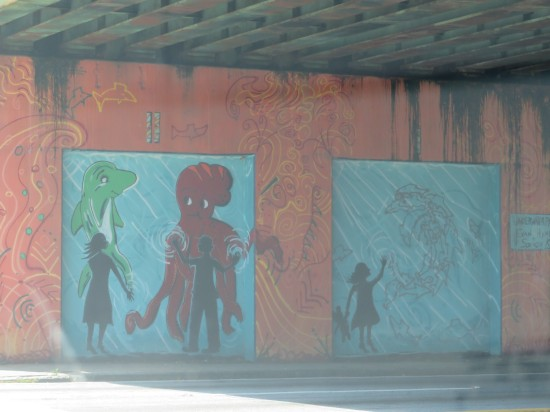 Under Bridge Mural!