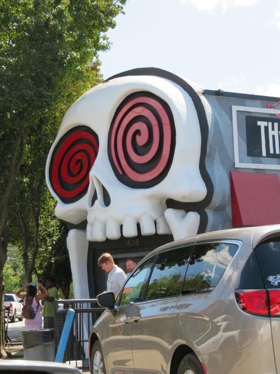 wacky skull shop!