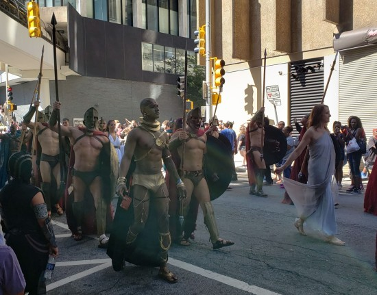 Xerxes and Spartans!