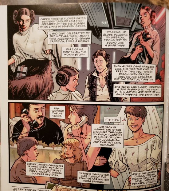 Carrie Fisher comics!