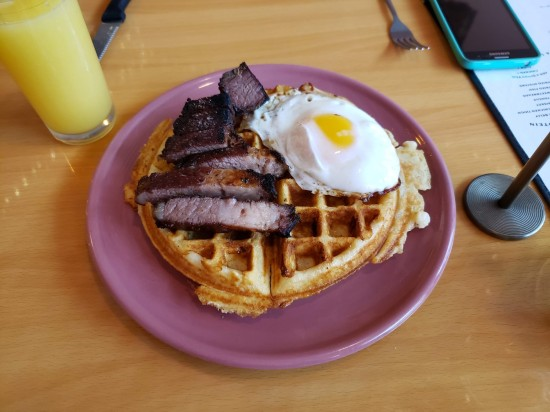 Brisket and Waffles!