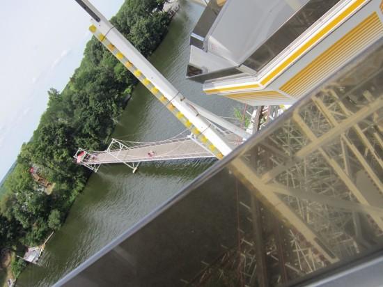 Ferris Wheel View Lake Shafer!