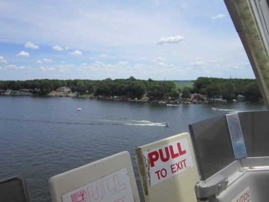 Ferris Wheel View Lake Shafer Better!