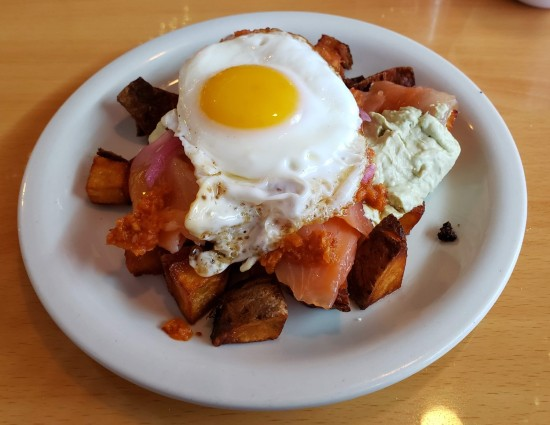 Lox Home Fries!