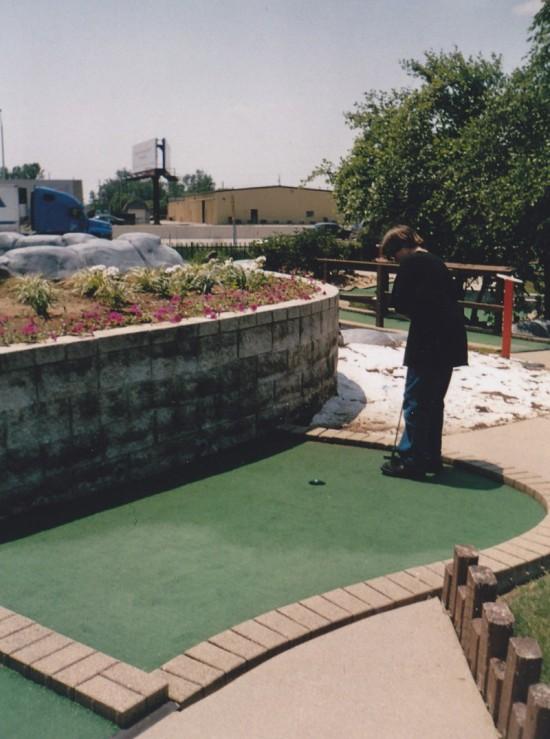 mini-golf!