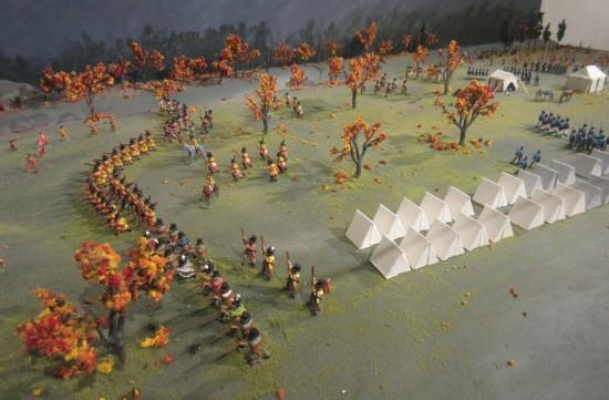 battle diorama!