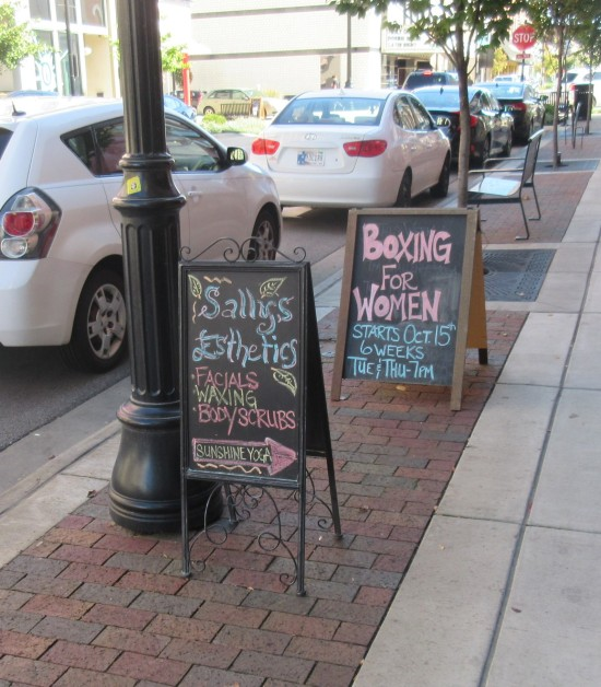 business sandwich boards