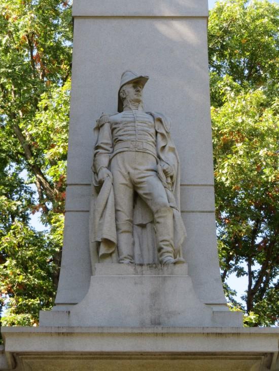 Harrison statue!