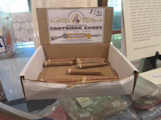 musket cartridge candy!