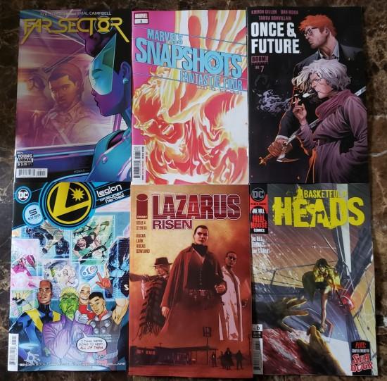 New Comics 03-25-2020!