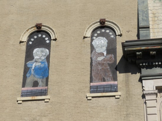Statler and Waldorf windows!