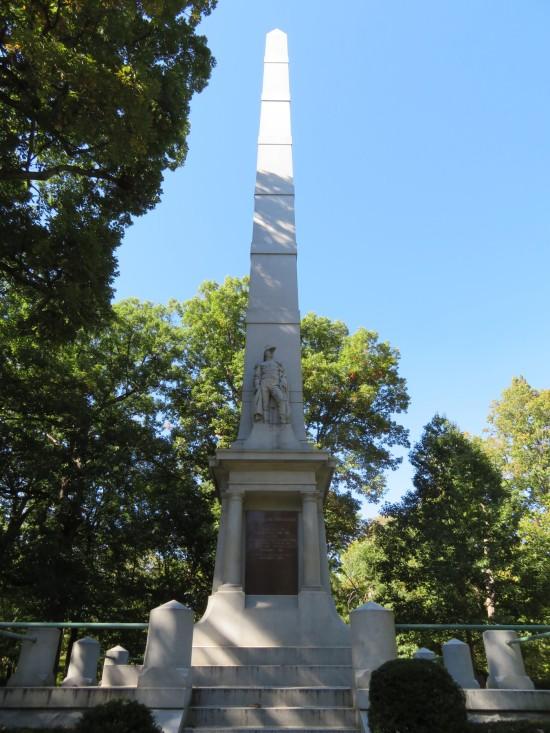 Tippecanoe monument!