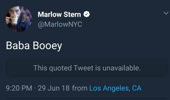 Baba Booey.