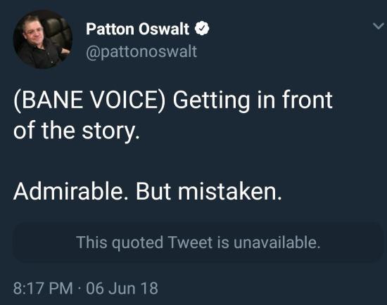 Bane Voice!