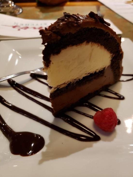 Italian chocolate cake!