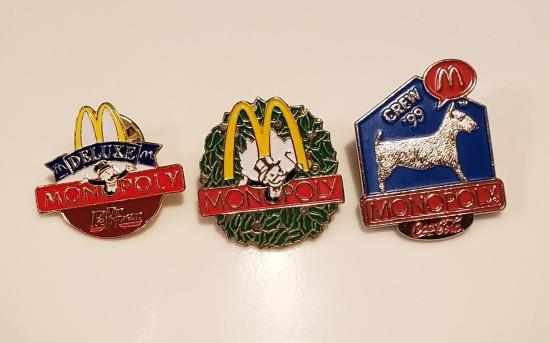 McDonald's pins!