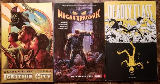 Dark Graphic Novels!