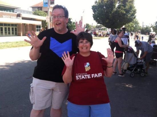Indiana State Fair 2017 Jazz Hands!