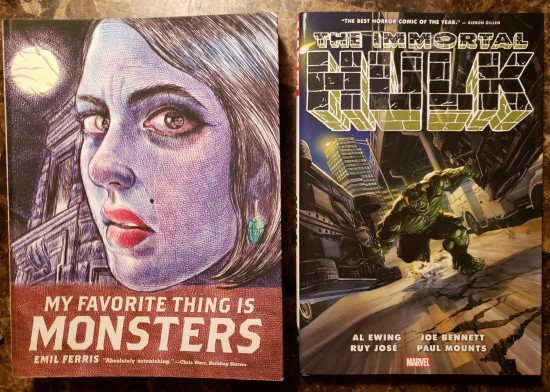 Monster Graphic Novels!