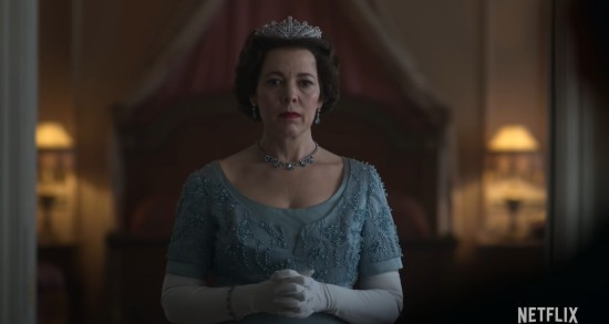 Olivia Colman and The Crown!