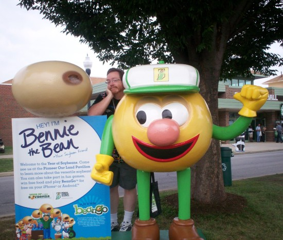 Bennie the Bean!