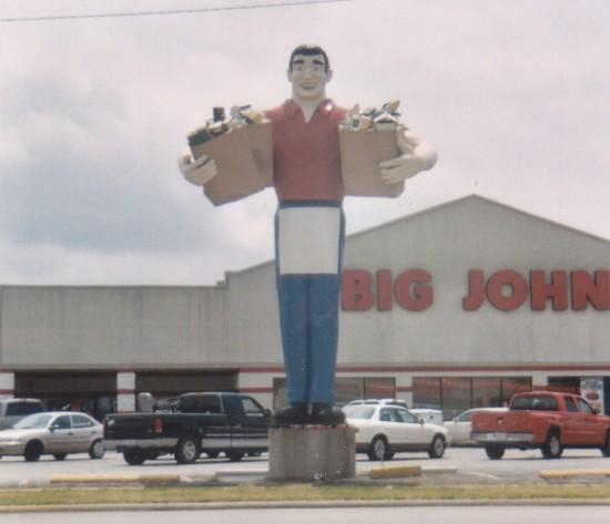 Big John statue!